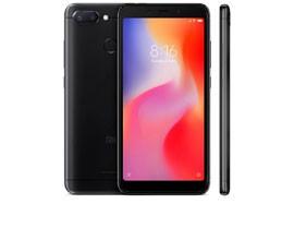 Telemóvel Dual SIM XIAOMI REDMI 6 3/32GB BLACK
