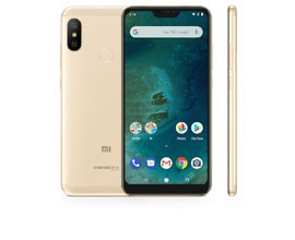 Telemóvel Dual SIM XIAOMI MI A2 LITE 4/64GB GOLD