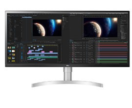 "Monitor UltraWide 34"" LG 34WL850-W"