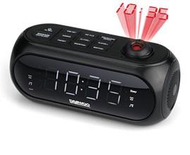 Rádio Relógio DAEWOO DCP-490B