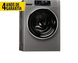 Máquina Lavar Roupa WHIRLPOOL FSCR80422S 4 ANOS GARANTIA