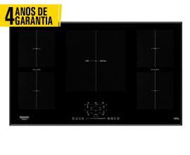 Placa Indução 90cm HOTPOINT KIF952BXLDB 4 ANOS GARANTIA