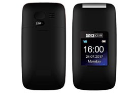 Telemóvel Dual SIM MAXCOM MM824 BLACK