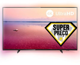 "LED UHD 4K 50"" 