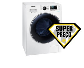 Máquina Lavar e Secar Roupa SAMSUNG WD90J6A10AW