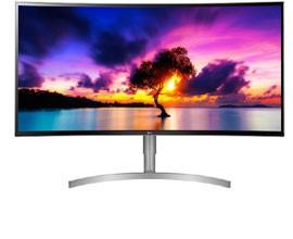 """Monitor UltraWide Curvo 38"""" LG 38WK95C"""