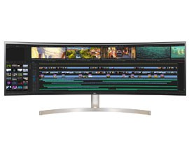 "Monitor UltraWide Curvo 49"" LG 49WL95C"