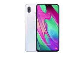 Telemóvel Dual SIM SAMSUNG GALAXY A40 4GB/64GB WHITE