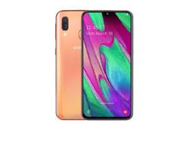Telemóvel Dual SIM SAMSUNG GALAXY A40 4GB/64GB CORAL