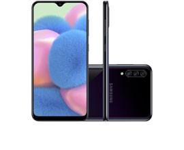 Telemóvel Dual SIM SAMSUNG GALAXY A30S 4GB/128GB BLACK