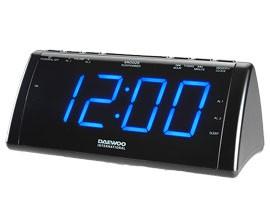 Rádio Relógio DAEWOO DCR-49