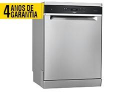 Máquina Lavar Louça WHIRLPOOL WFO3041PLX 4 ANOS GARANTIA