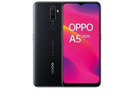 Telemóvel Dual SIM OPPO A5 3GB/64GB BLACK