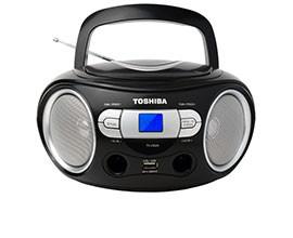 Rádio Gravador TOSHIBA CRS9BK