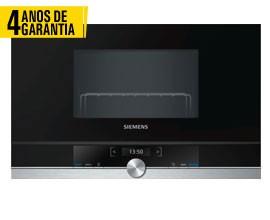 Micro Ondas COM GRILL SIEMENS BE634RGS1 4 ANOS GARANTIA