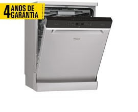 Máquina Lavar Louça  WHIRLPOOL WFO3O33DLX 4 ANOS GARANTIA