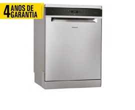 Máquina Lavar Louça  WHIRLPOOL WFC3C24PFX 4 ANOS GARANTIA